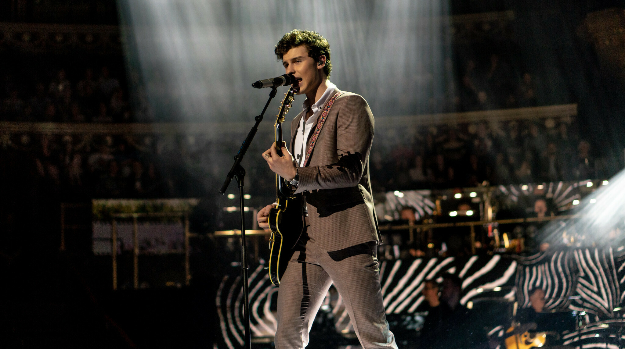 Shawn Mendes performing
