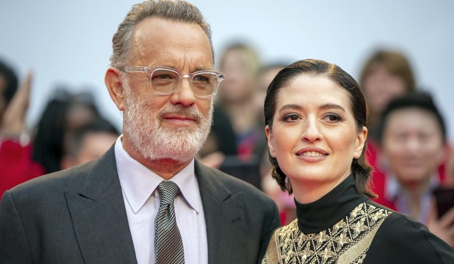Tom Hanks Reveals Fred Rogers Looking As Dashing As Ever At The Toronto International Film Festival