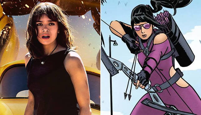 This Hailee Steinfeld As Hawkeye In Marvel Clue Is SO Exciting