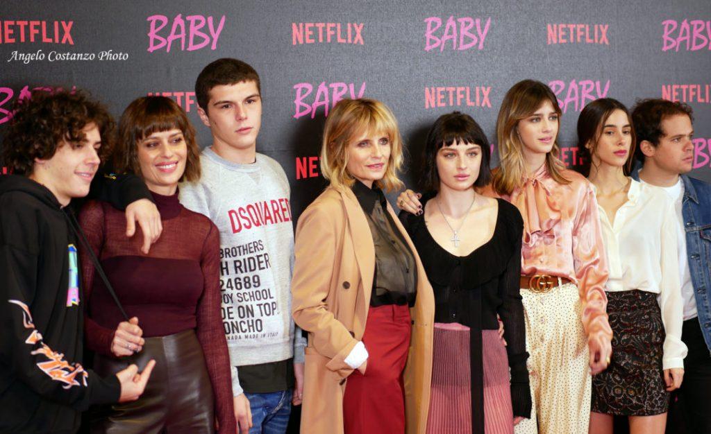 Baby Netflix Cast