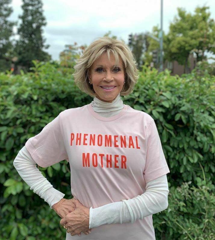 Jane Fonda protest