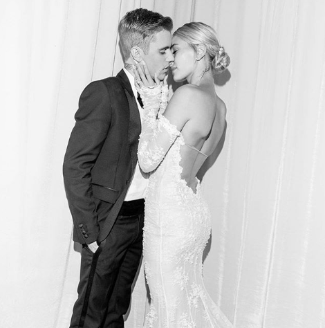Hailey Baldwin kisses Justin Bieber in Schmidt's new ad as the singer launches Natural and Gender Neutral Deodorant 'Here+Now!!