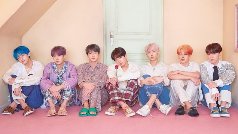 BTS mocks that they will embark on a new tour next year