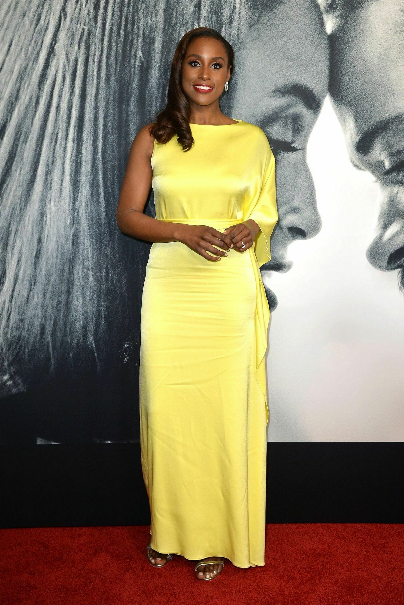 issa rae in yellow dress photo courtesy (gofugyourself)