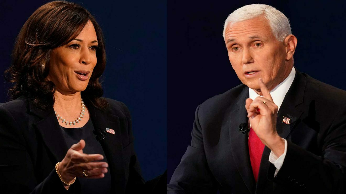 Kamla Harris and Mike Pence