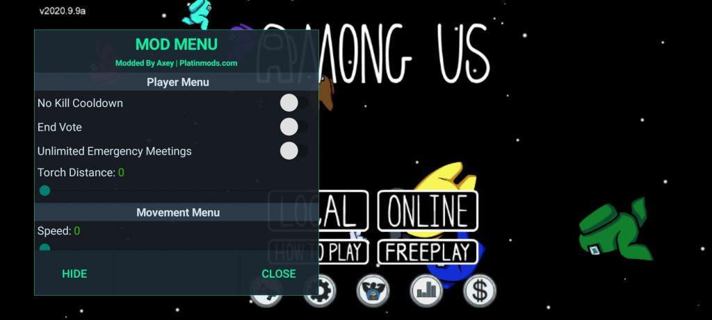 Among Us MOD Menu APK | Always Imposter, No Ban, Wall & Speed Hack v2020.10.22s
