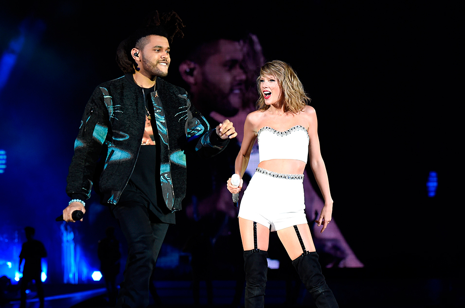 The Weeknd says DRUNK Taylor Swift Wouldn't Stop Stroking his HAIR!!!