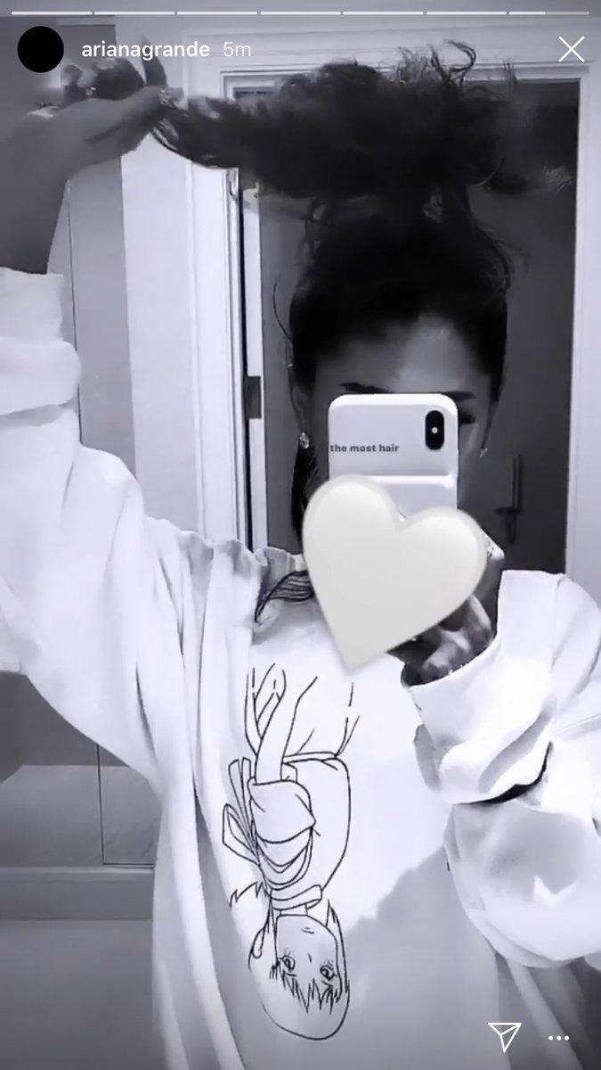 Ariana Grande's Original Hair