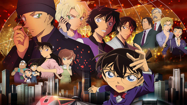Detective Conan: The Scarlet Bullet Will Air Simultaneously Worldwide!!! Details here!!!