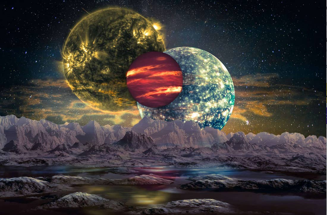 New Research Says Maritime Universes Are Holding Earth-like Continents in Incredible Bounty!!!