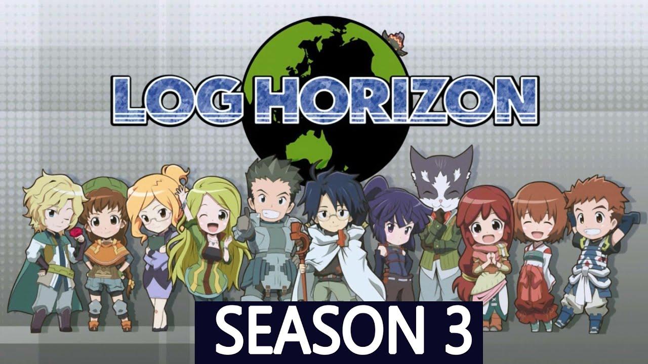 Log horizon season 3