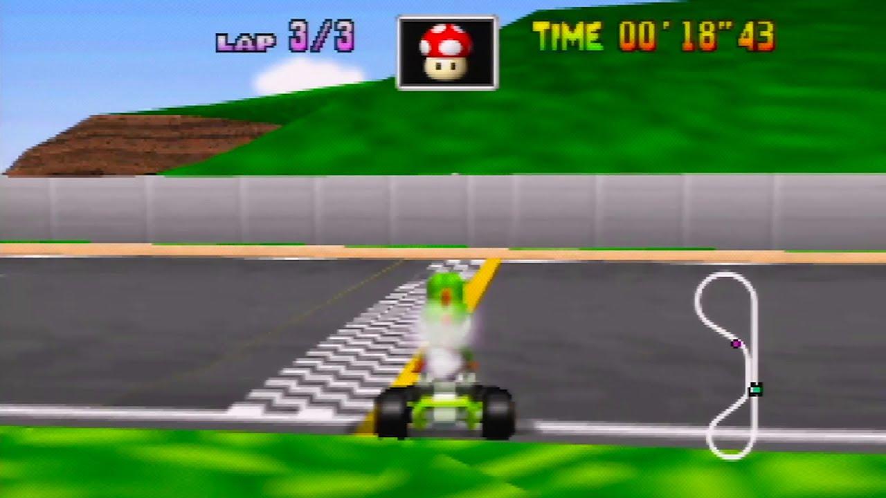 mario kart 64 speedrunner