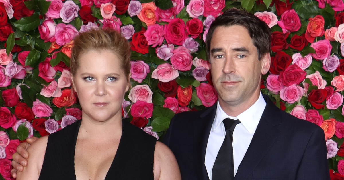amy schumer celebrates anniversary chris fischer