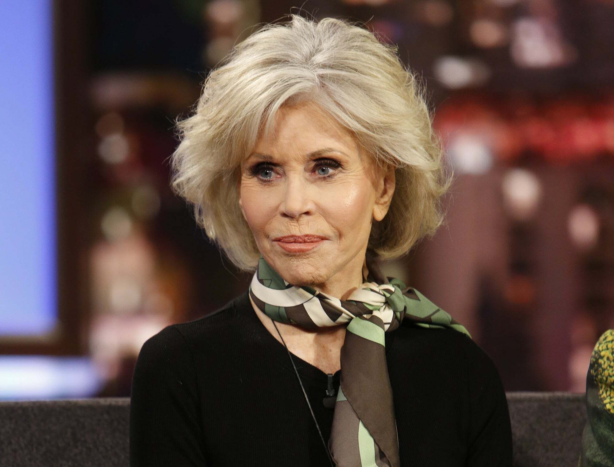 Jane Fonda won't have any sexual relationship unless it's a young man