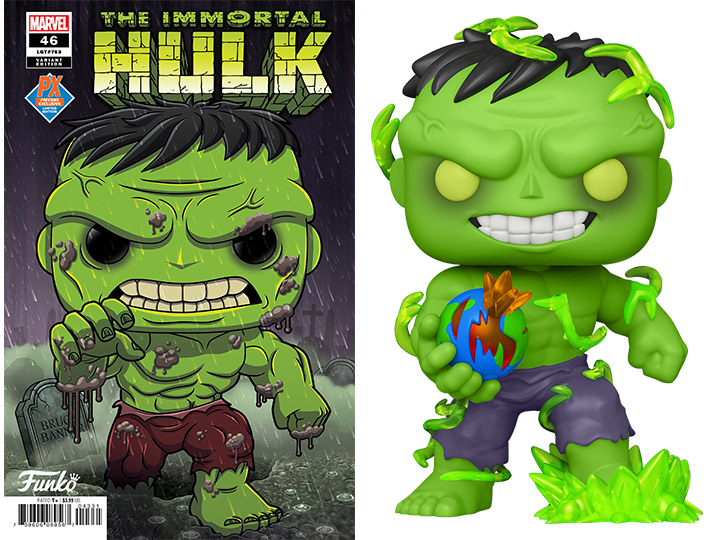 Funko Immortal Hulk PX Exclusive Pop Figure Includes a Chase and Variant Comic!!!