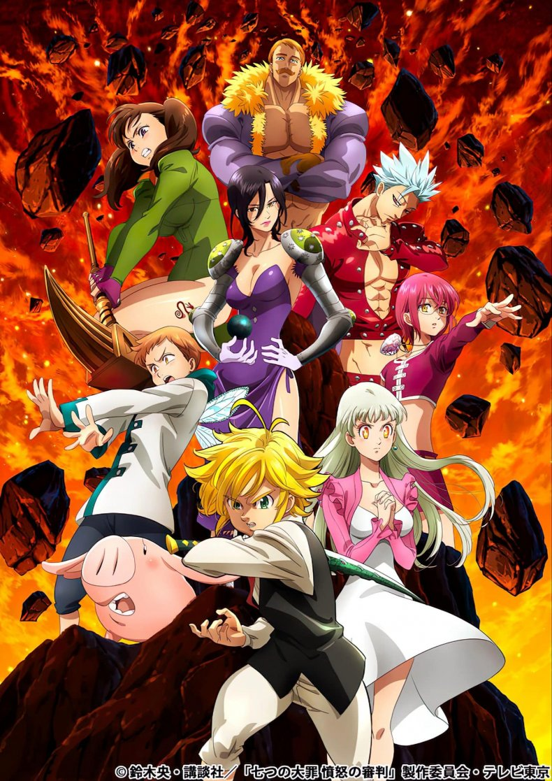 The Seven Deadly Sins on Netflix season 5 delivery date, cast, summary, trailer, and that's just the beginning