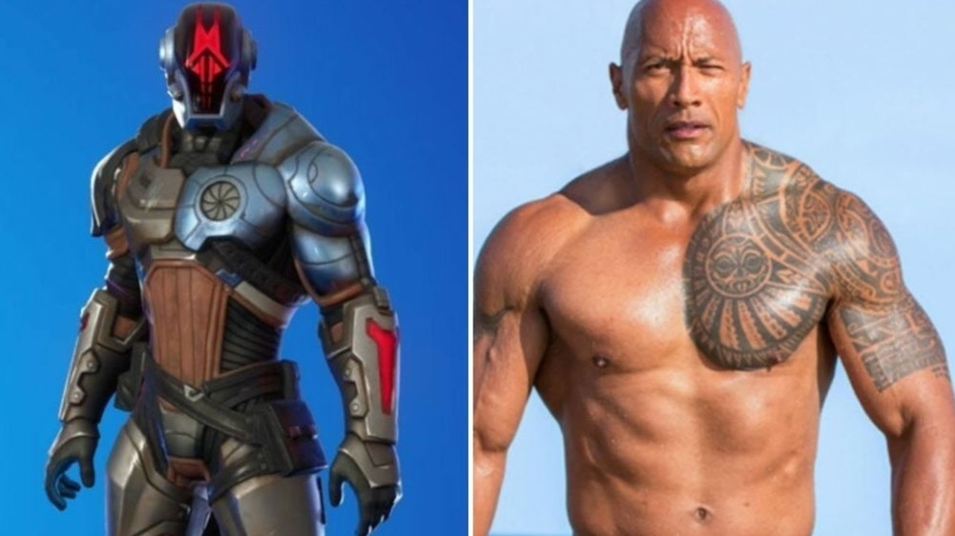 Fortnite fans think its major new character is secretly being played by The Rock
