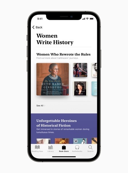 Apple Announces Women's History Month and International Women's Day Celebrations!!!