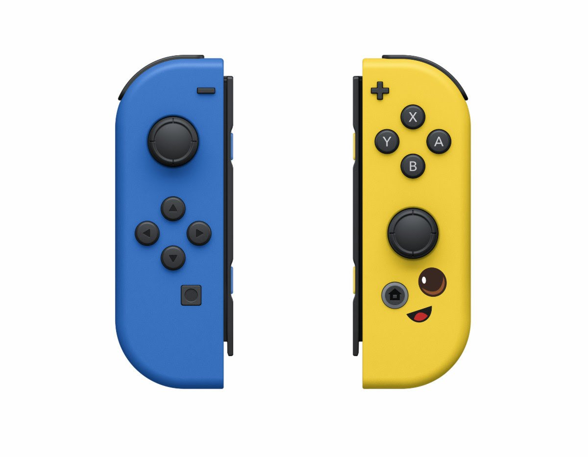 Fortnite Edition Nintendo Switch Joy-Cons Coming 4 June!!!