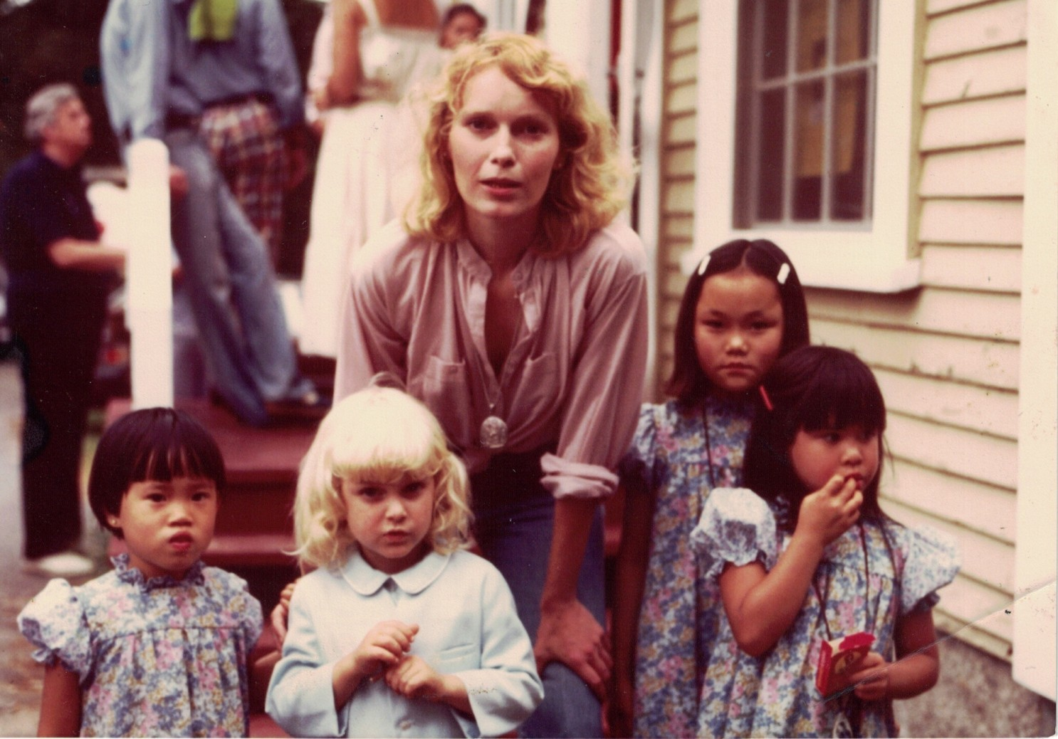 Mia Farrow reacts to vicious rumors about her three adopted children deaths!!!