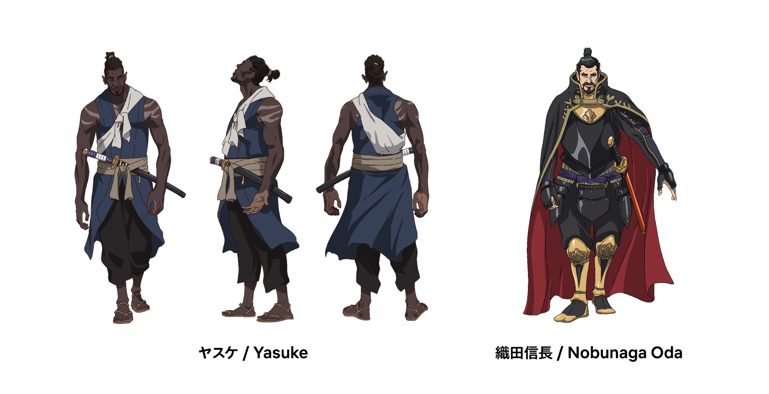 Netflix and MAPPA's first YASUKE Trailer finds a BLACK SAMURAI in the Thick of War