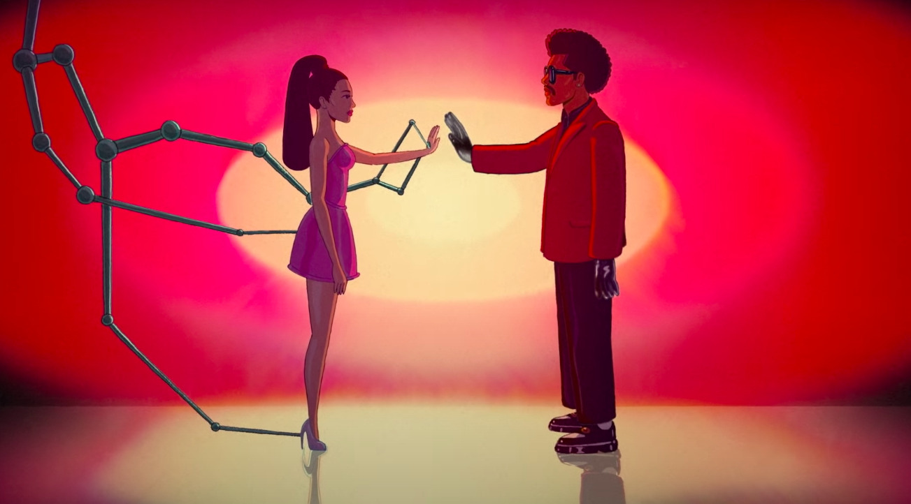 The Weeknd and Ariana Grande Team Up for Another Song!!!