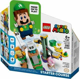 Lego adds a Luigi set to its Super Mario collection!!!