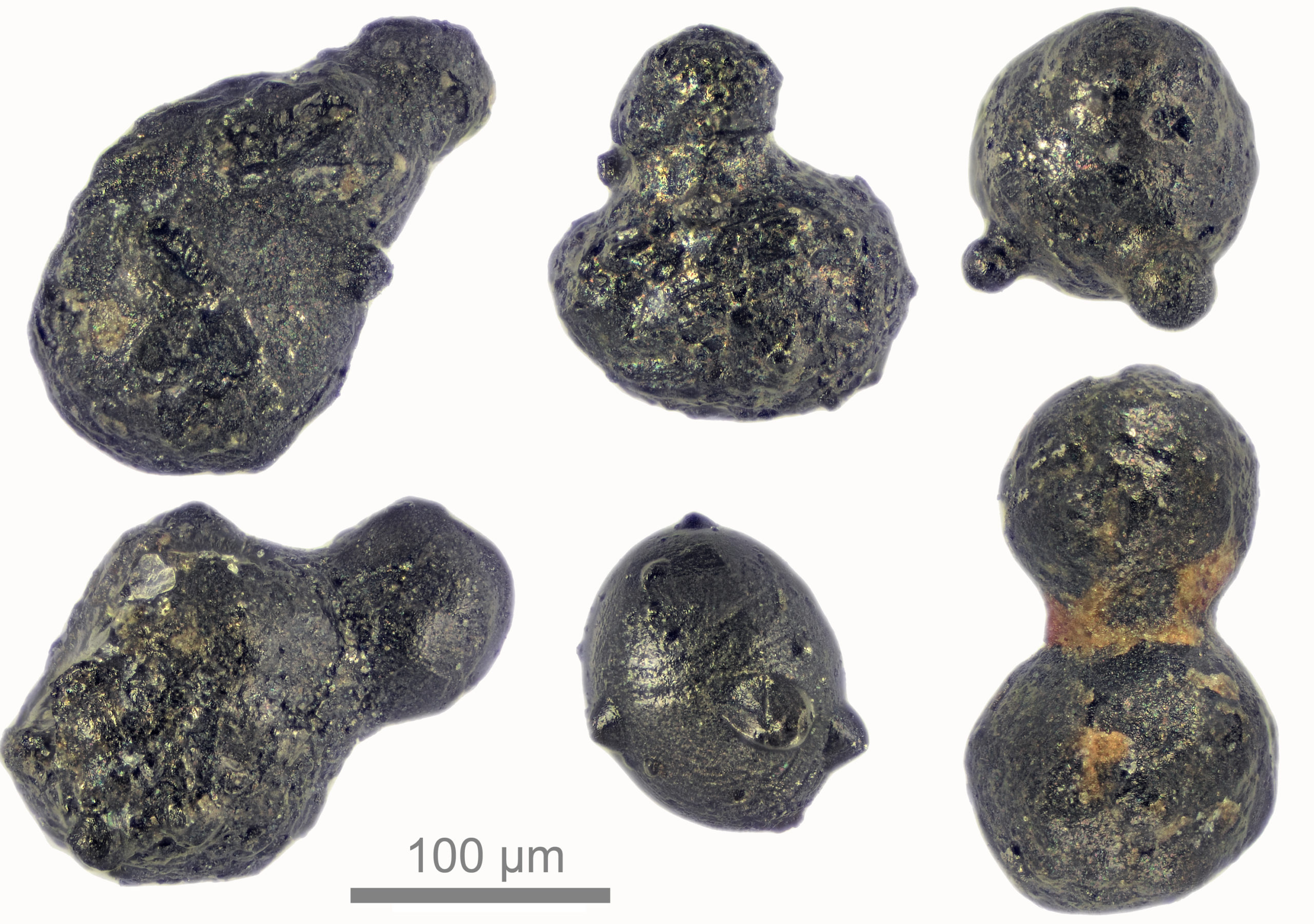Meteor particles from 430,000 years ago
