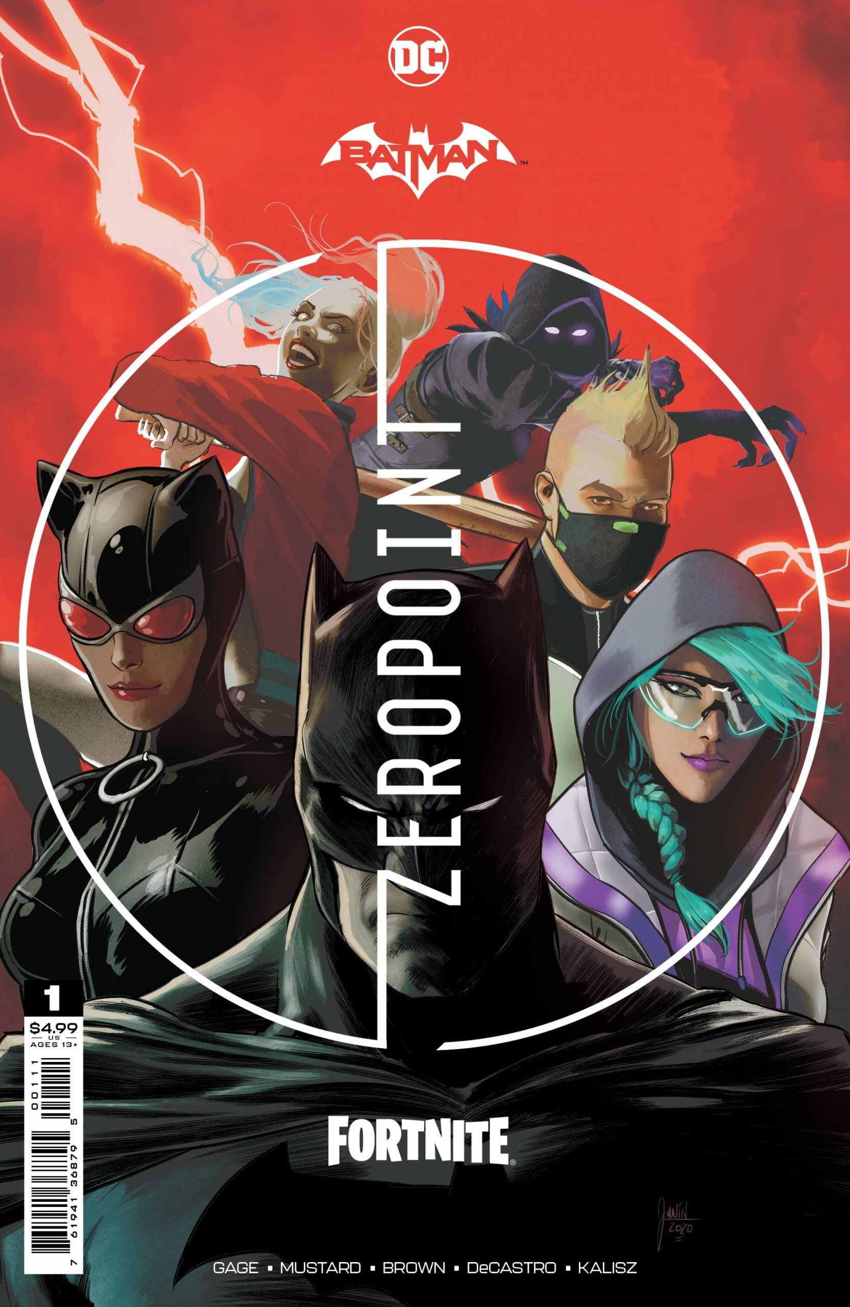UNIVERSES COLLIDE: BATMAN/FORTNITE: ZERO POINT - NEW LIMITED-EDITION COMIC BOOK SERIES ARRIVES APRIL 20