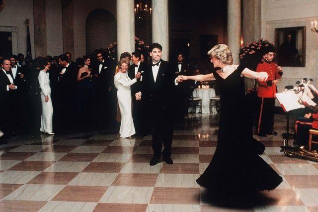 "John Travolta Said Dancing With Princess Diana at the White House Was Like a ""Fairytale"""