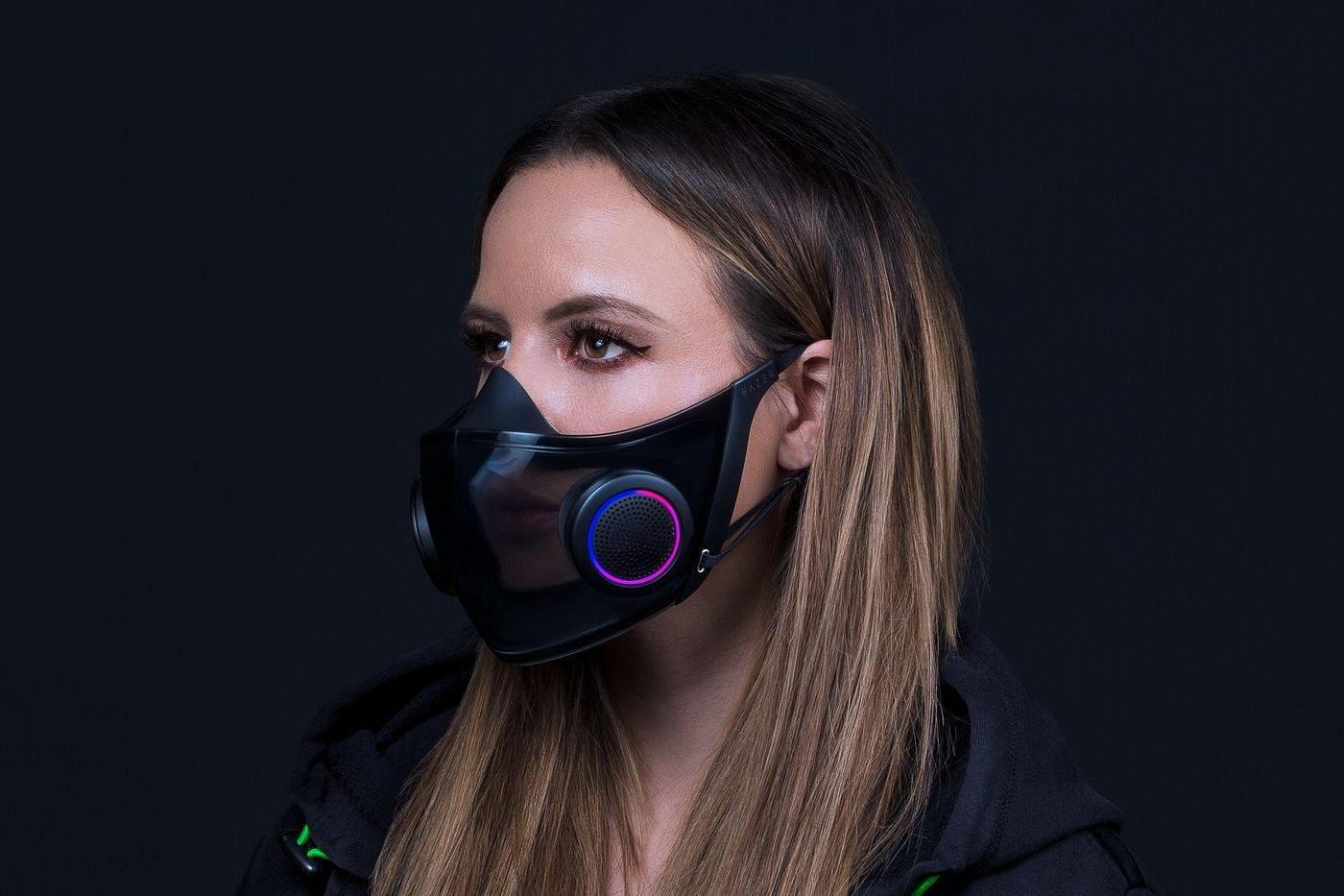 Razer is actually making its concept RGB face mask!!!