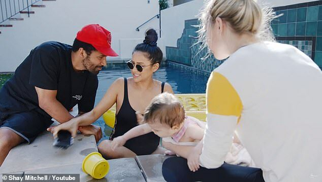 Shay Mitchell's trainer reveals her workout that is keeping the actress, 32, fit and healthy during pregnancy!!!
