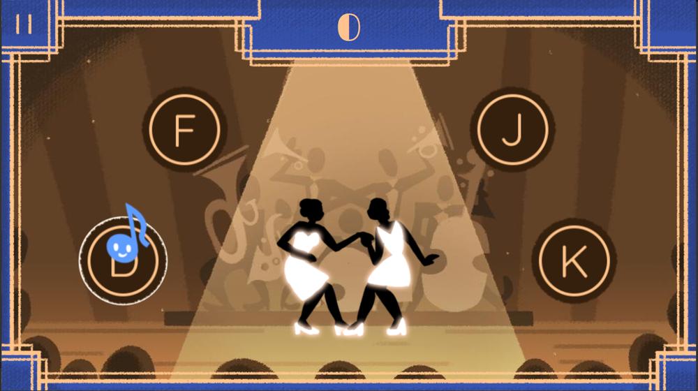 Google Doodle Makes Savoy Ballroom Game to Celebrate Harlem's Historic Dance Hall