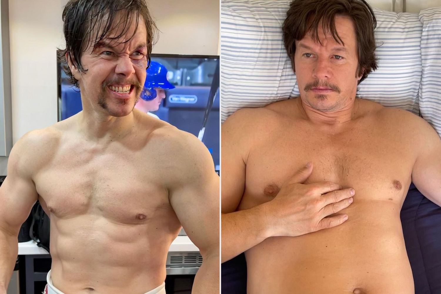 Imprint Wahlberg Reveals New Look After Gaining 20 Pounds in Just 3 Weeks!!!