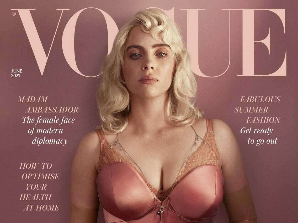 Billie Eilish says sexual unfortunate behavior is 'all over' in meet with Vogue magazine