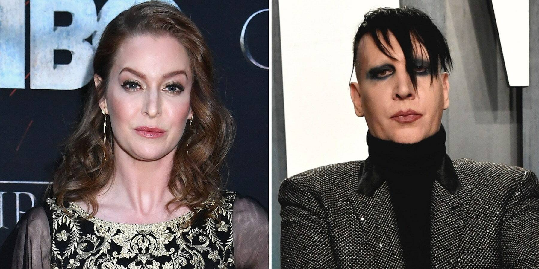 Marilyn Manson Sued by GOT Actress Esmé Bianco for Human Trafficking and 'Astonishing' Sexual Abuse