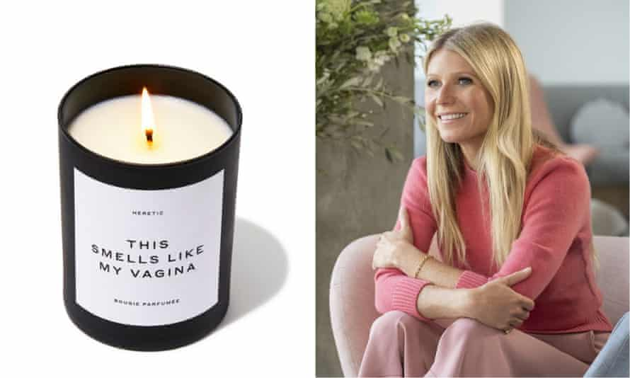 Gwyneth Paltrow's Goop sued as man claims her vagina-scented light 'detonated'!!!