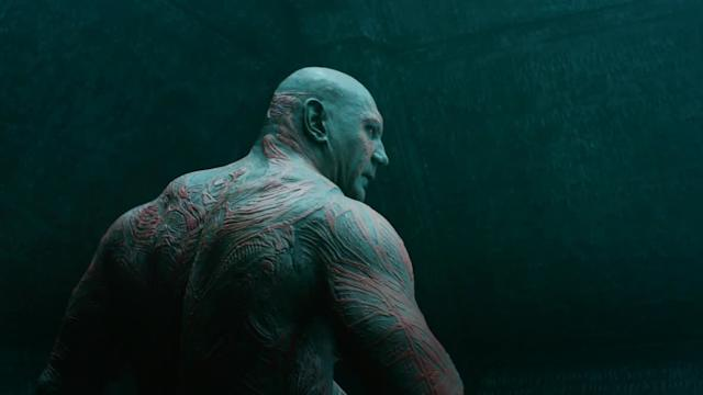 52-year-old Dave Bautista says he's stopping 'Watchmen of the Galaxy' over shirtless scenes