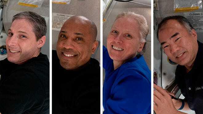 SpaceX returns 4 astronauts