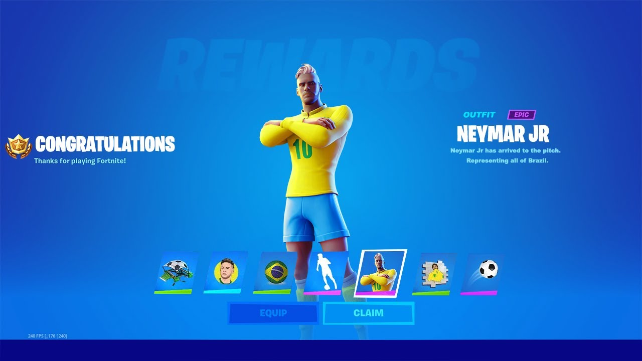 Neymar Jr In Fortnite