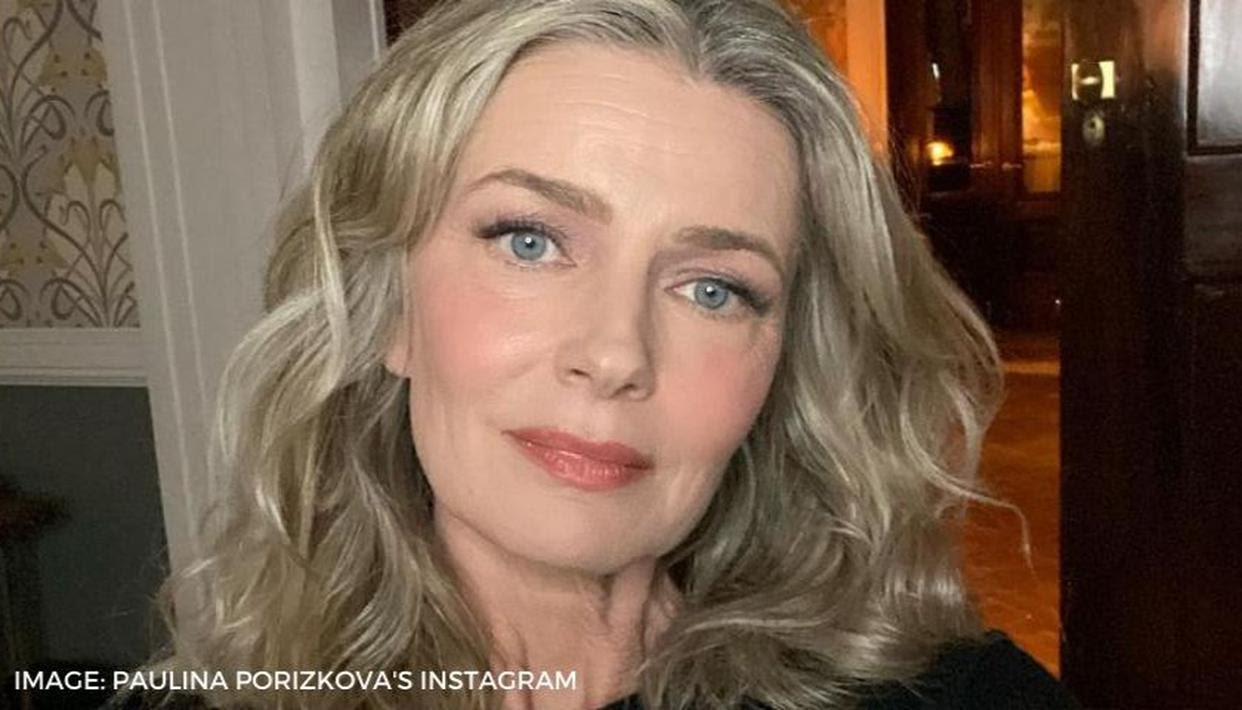 Paulina Porizkova reveals that her nude Vogue cover was 'unretouched'!!!