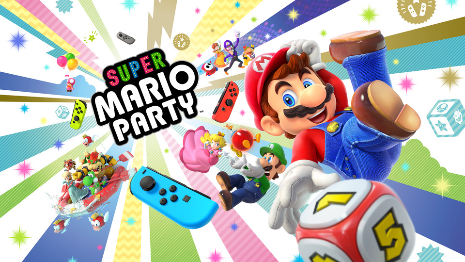 SUPER MARIO PARTY ADDS NEW ONLINE FEATURES THAT LET YOU PLAY WITH FRIENDS
