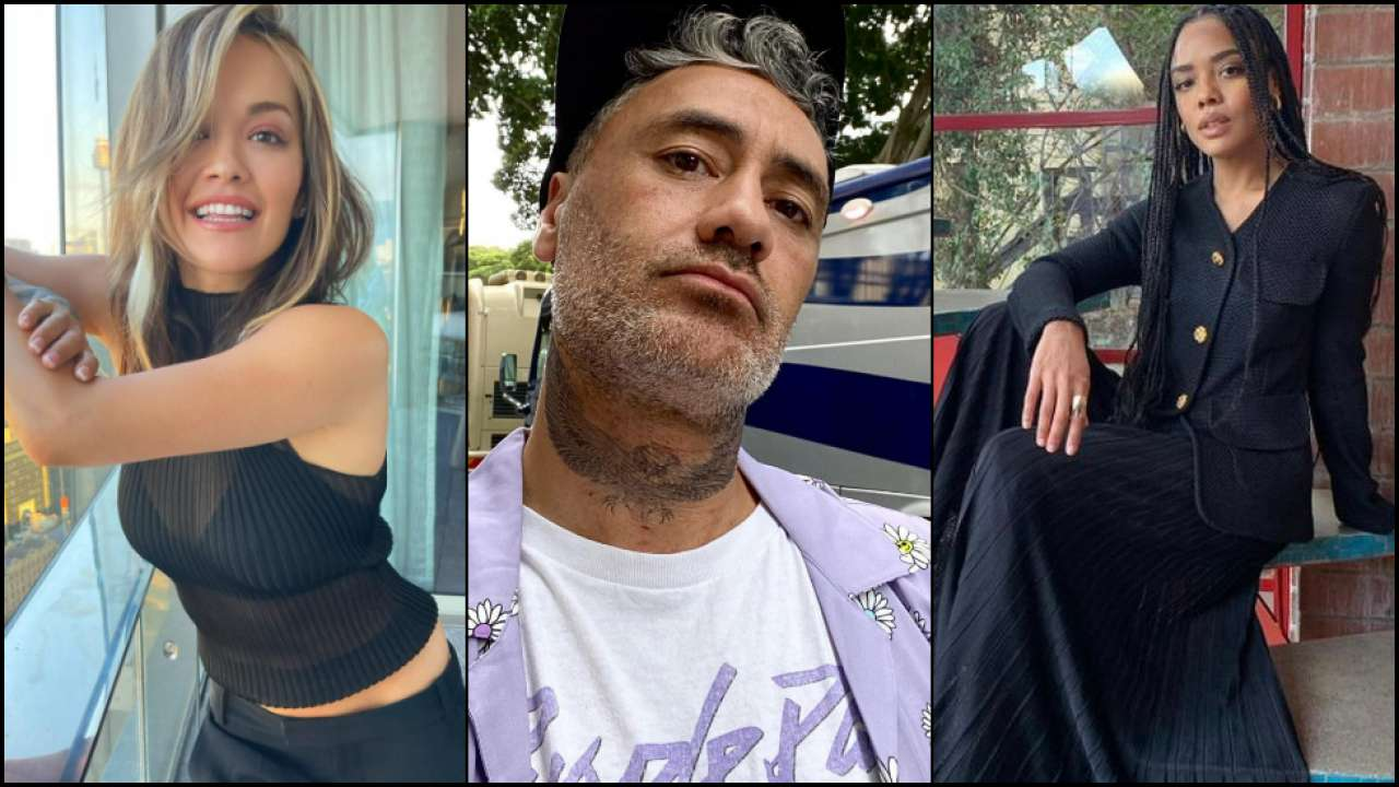 Marvel Bosses Pull Up Taika Waititi Over Viral Pics with Rita Ora and Tessa Thompson??