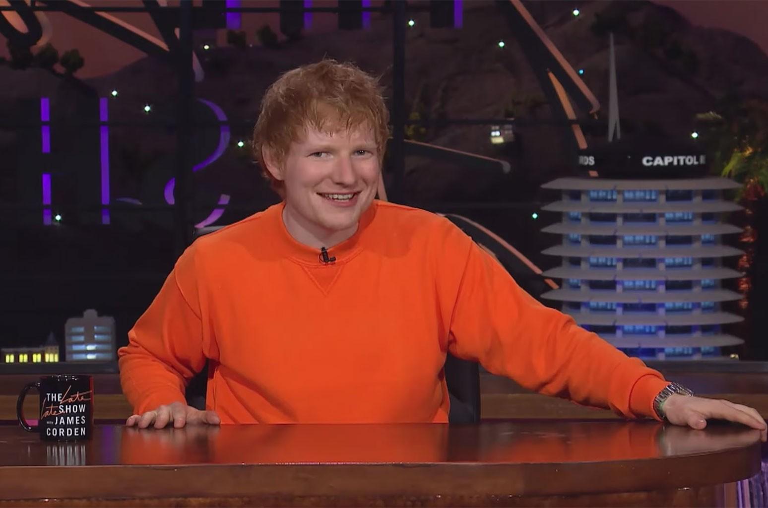 Ed Sheeran At 'The Talk Show'