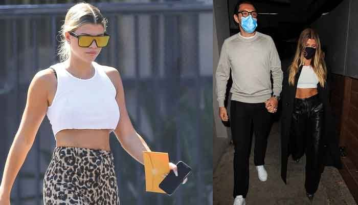 Sofia Richie shows off her toned Abs on romantic date night with beau Elliot Grainge