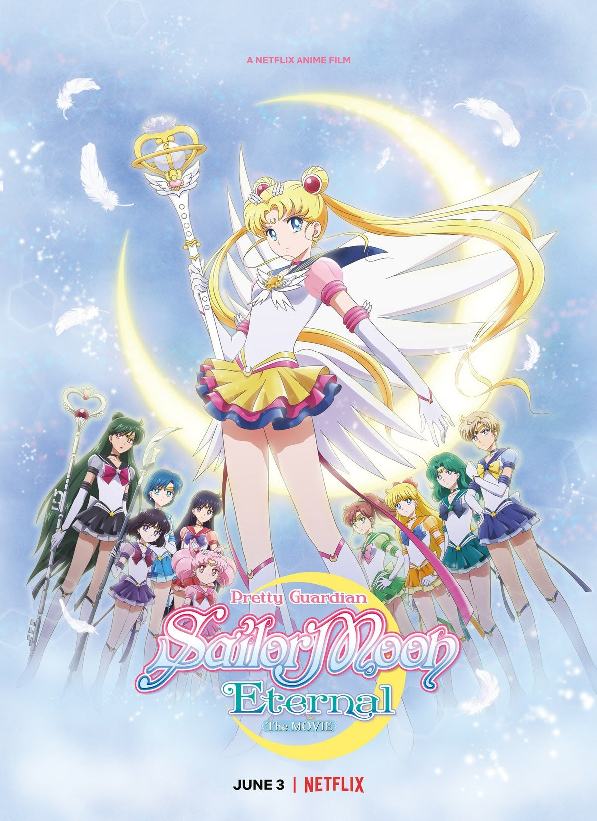 """Netflix Releases Trailer for """"Pretty Guardian Sailor Moon Eternal The Movie"""" !!!  Look it here !!!"""