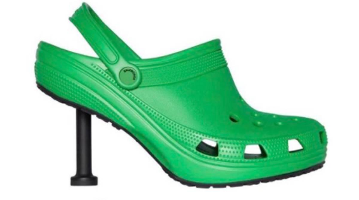 Luxury brands Balenciaga and Crocs present CROCS with HEELS!