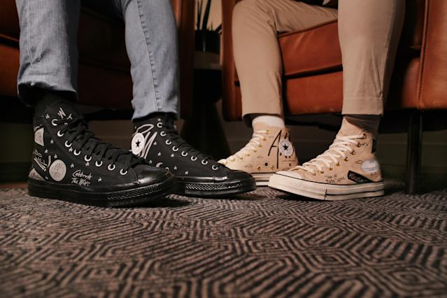 Issa Rae joins the latest Converse details