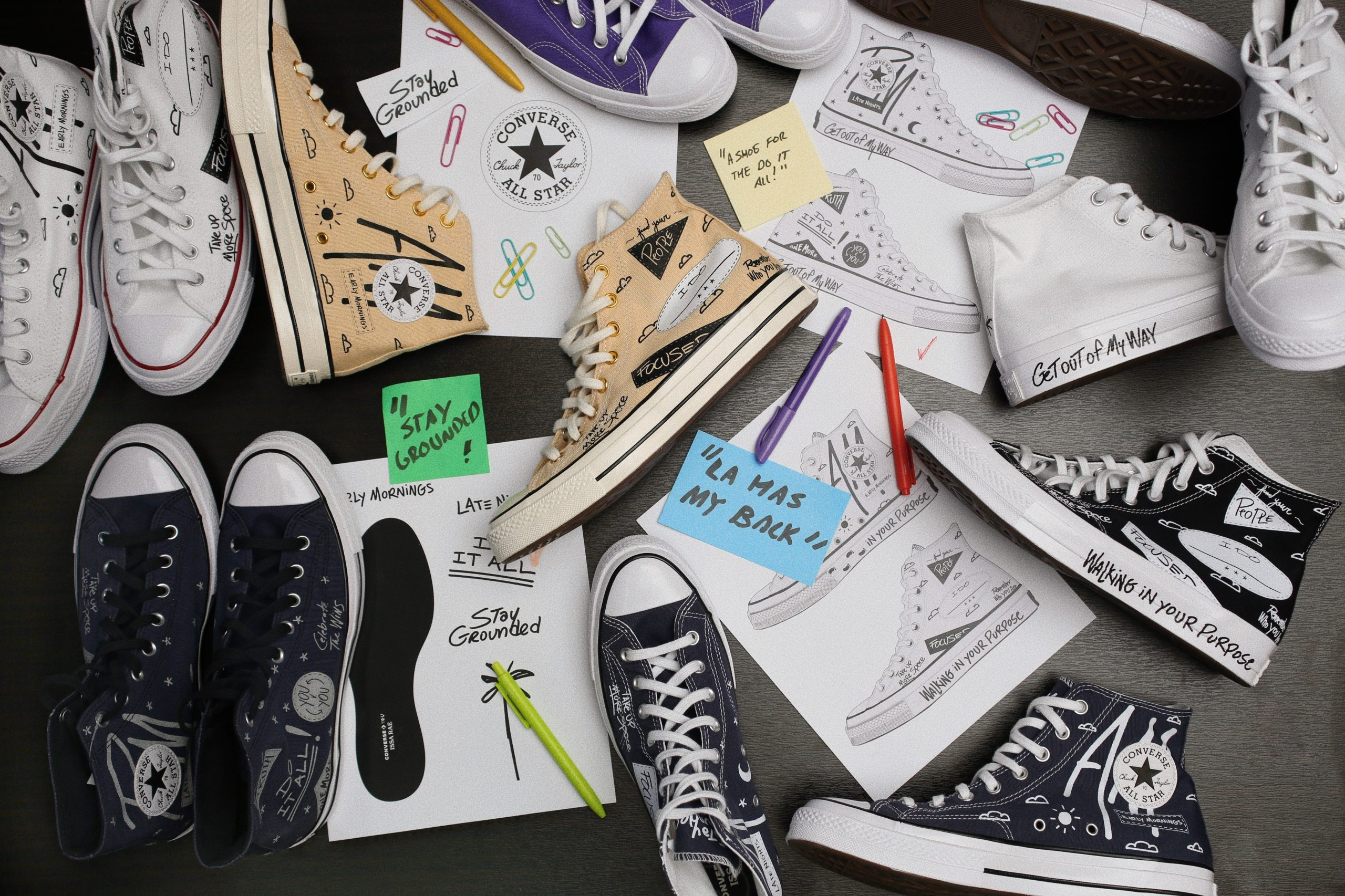 Issa Rae 'Drop A Shoe'
