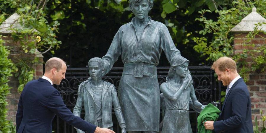 William, Harry And Princess Diana